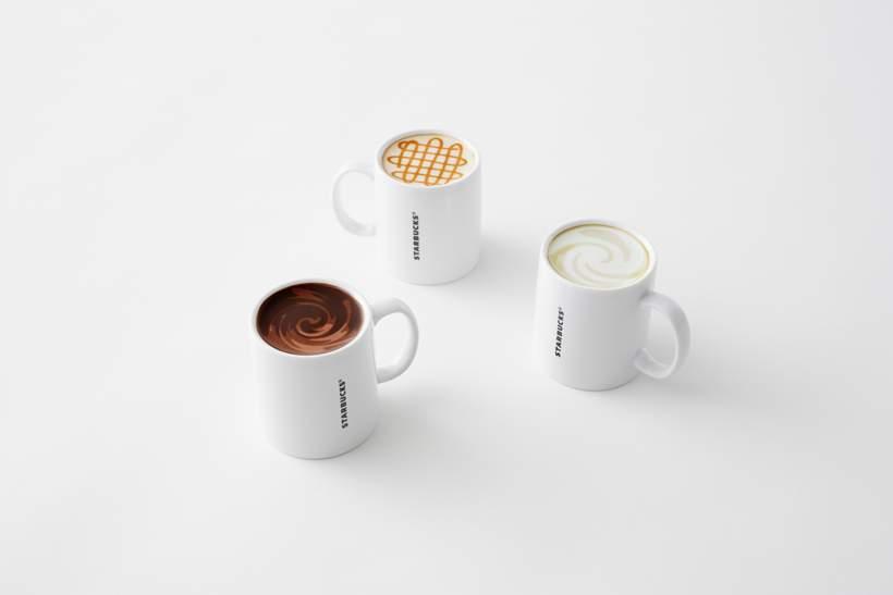 Nouvelle collection de Mugs STARBUCKS par NENDO