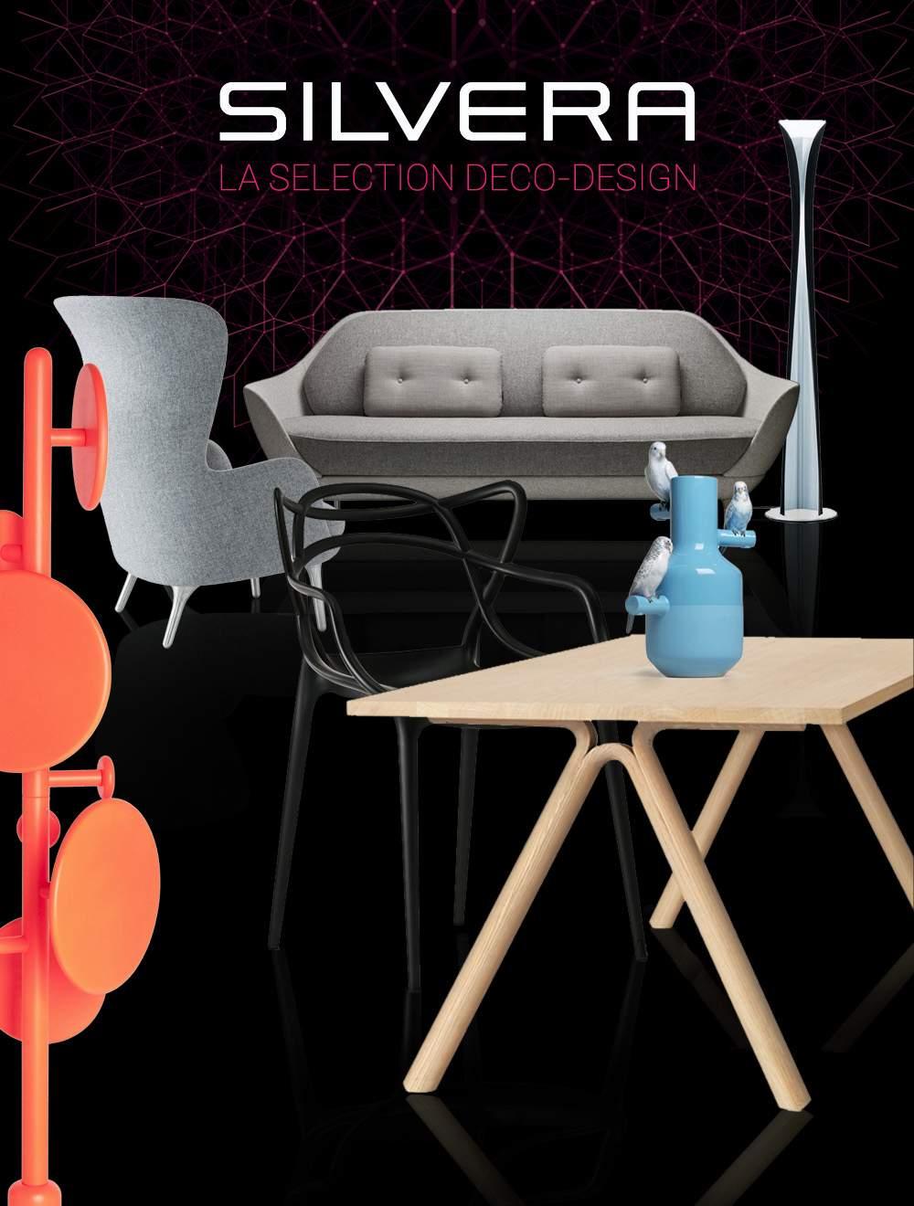 La Sélection Deco-Design chez SILVERA