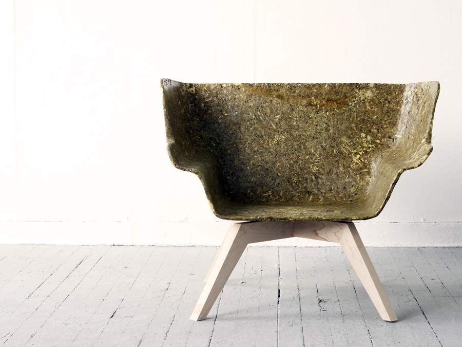 Lounge Chair ARTICHOKE THISTLE par Spyros KIZIS
