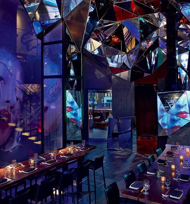 Restaurant bar design taschen deco