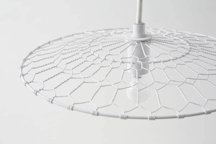Suspension BASKET LAMP par Kanaami-Tsuji x NENDO