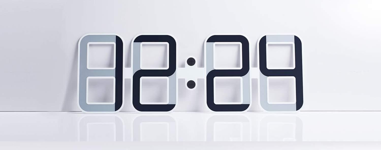 Horloge design CLOCKONE Twelve24