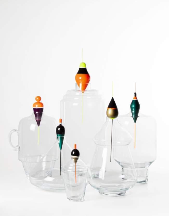 flacons les pescadous par margaux keller x roche bobois. Black Bedroom Furniture Sets. Home Design Ideas
