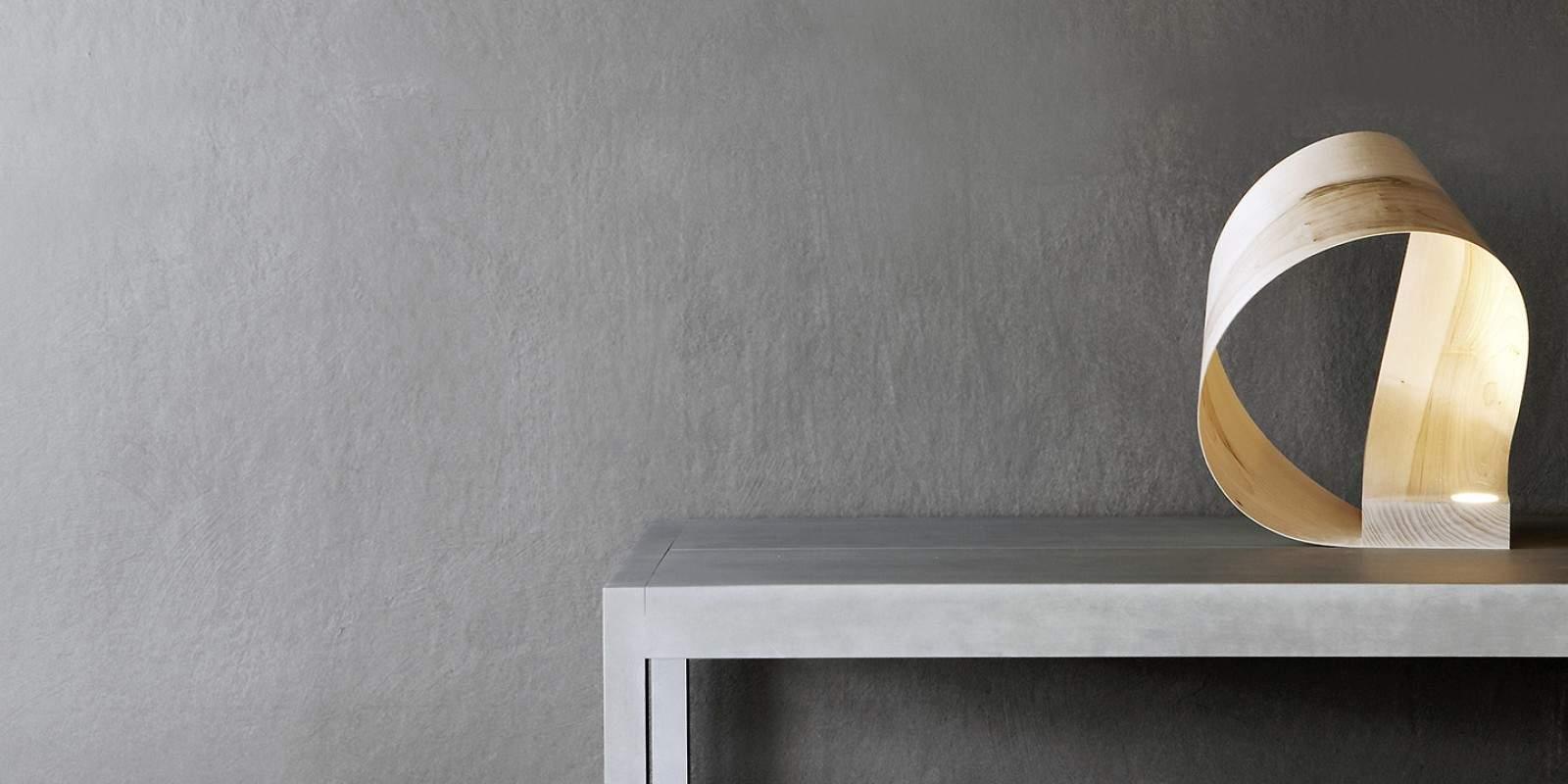 lampe bois milano hikari deco design. Black Bedroom Furniture Sets. Home Design Ideas