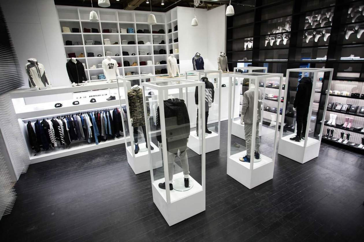 RONNIE FIEG present - KITH New Flagship Store Broadway NYC ...