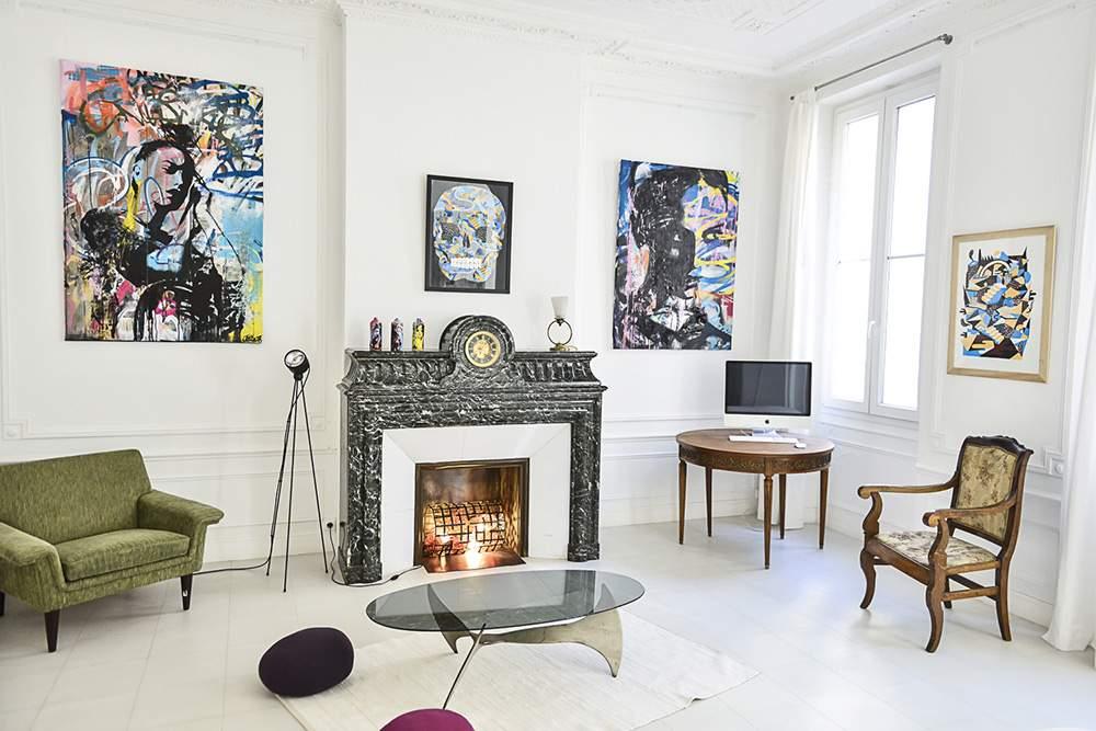 L'APPARTEMENT - Chambre d'Art **** à Marseille Deambulations-urbaines-Chambre_JmRobert-Goddog