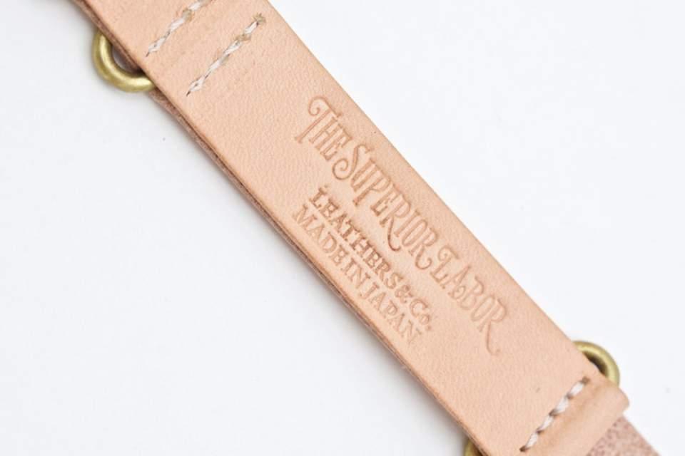 Bracelet NATO cuir THE SUPERIOR LABOR
