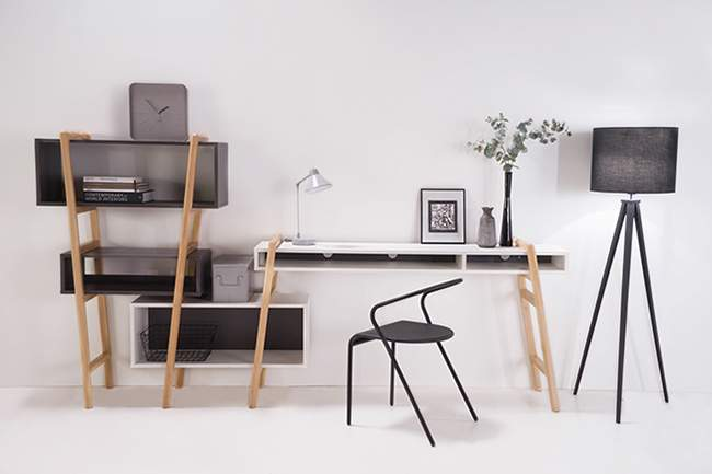 Mobilier concept wood tang design x miliboo deco design for Mobilier concept