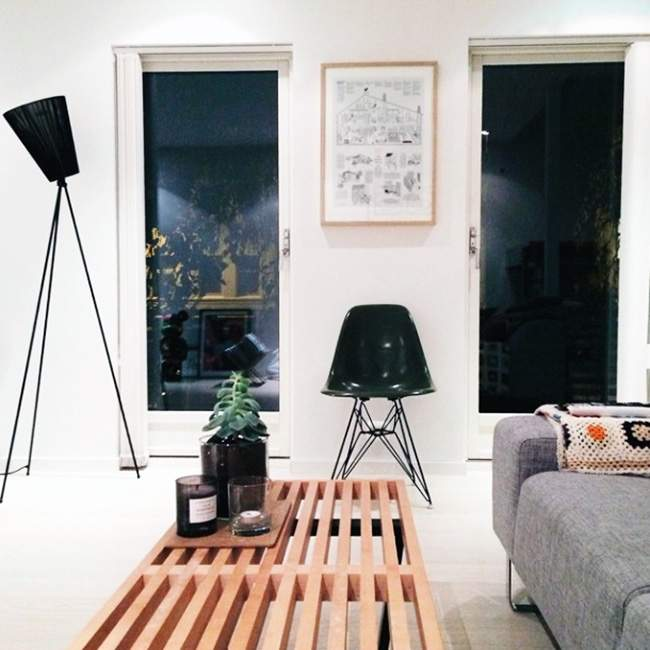 Appartement scandinave fredrikrisvik deco design for Deco appartement instagram