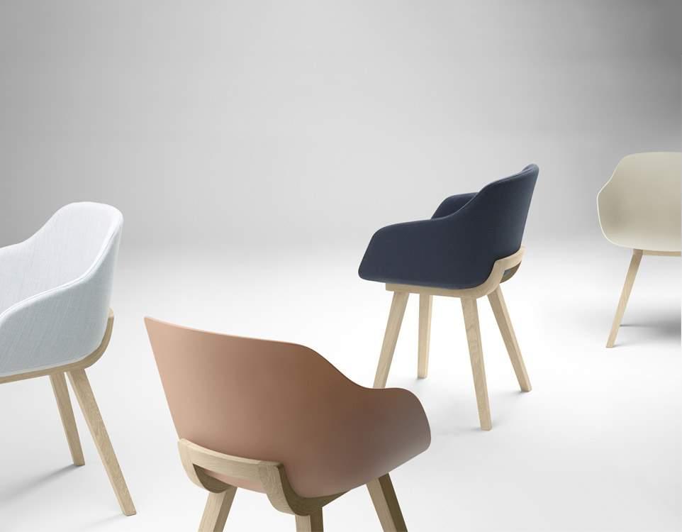 Chaise biodégradable KUSKOA BI par Jean Louis IRATZOKI