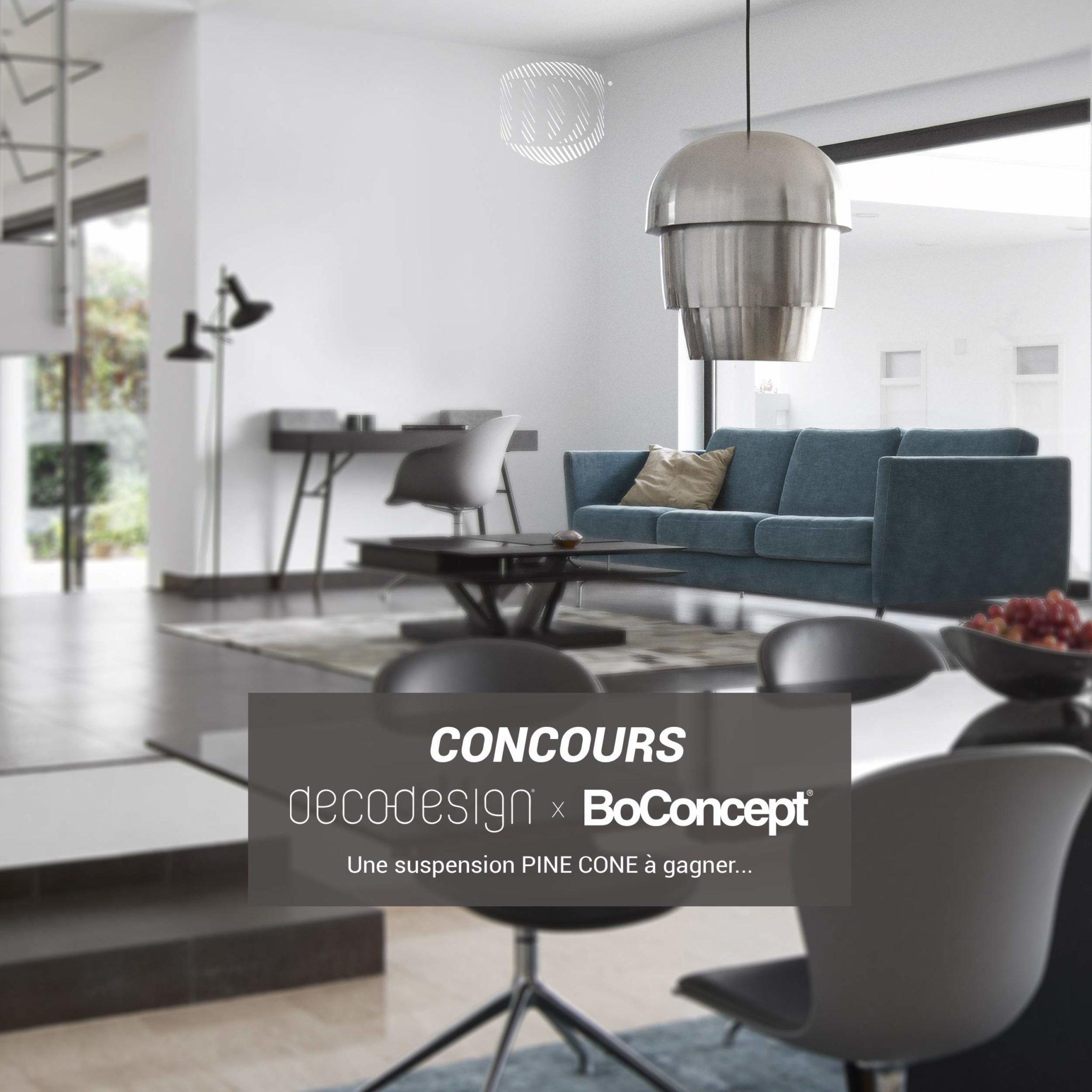 CONCOURS : BoConcept x Deco-Design