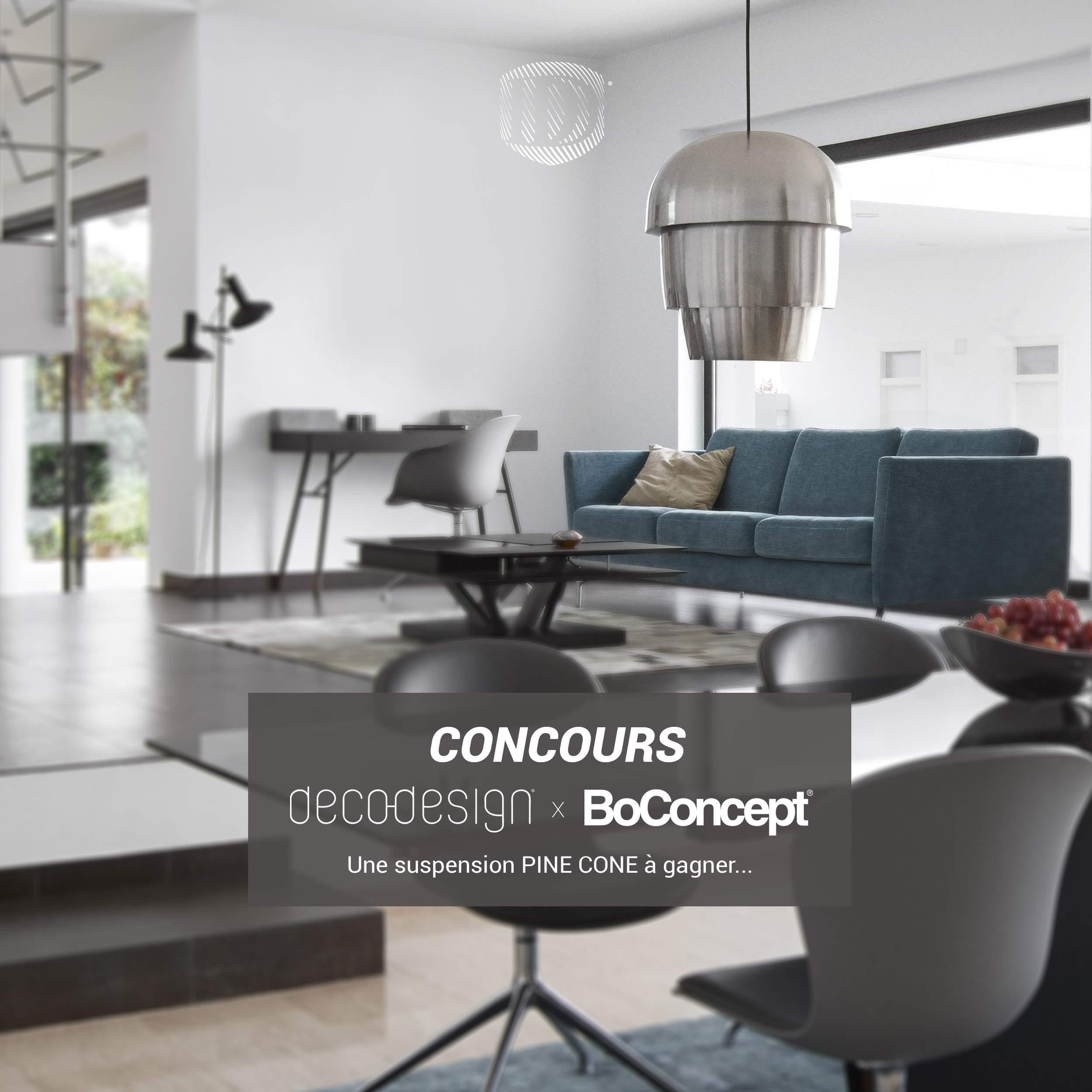 concours boconcept x deco design. Black Bedroom Furniture Sets. Home Design Ideas