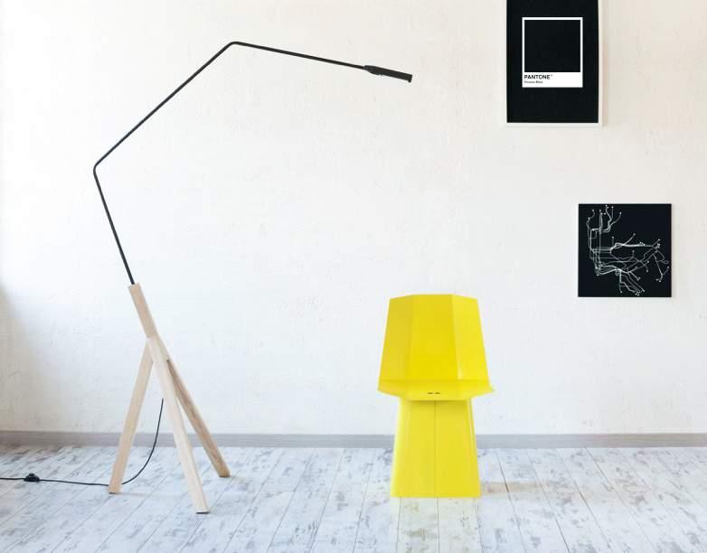 lampadaire noneli par formabilio x auriga studio deco design. Black Bedroom Furniture Sets. Home Design Ideas