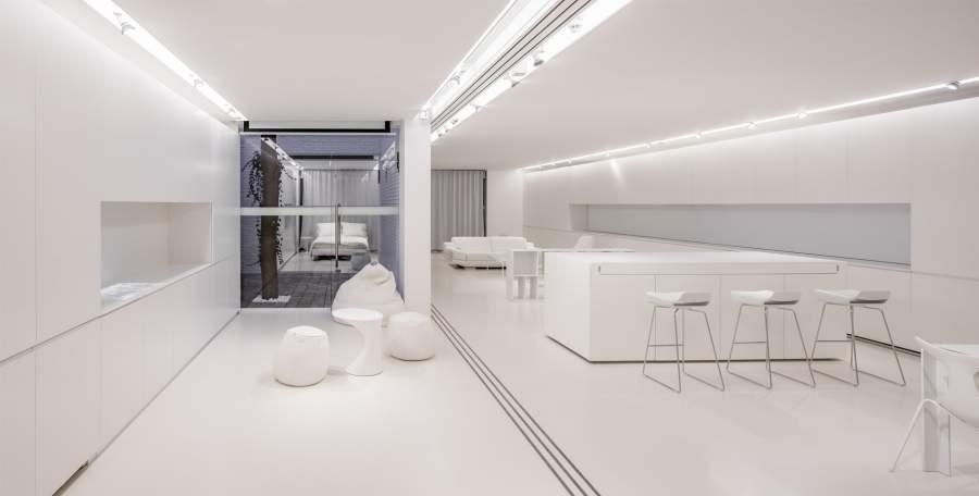 L 39 appartement du futur par narchitektura jo yana for Peinture appartement design