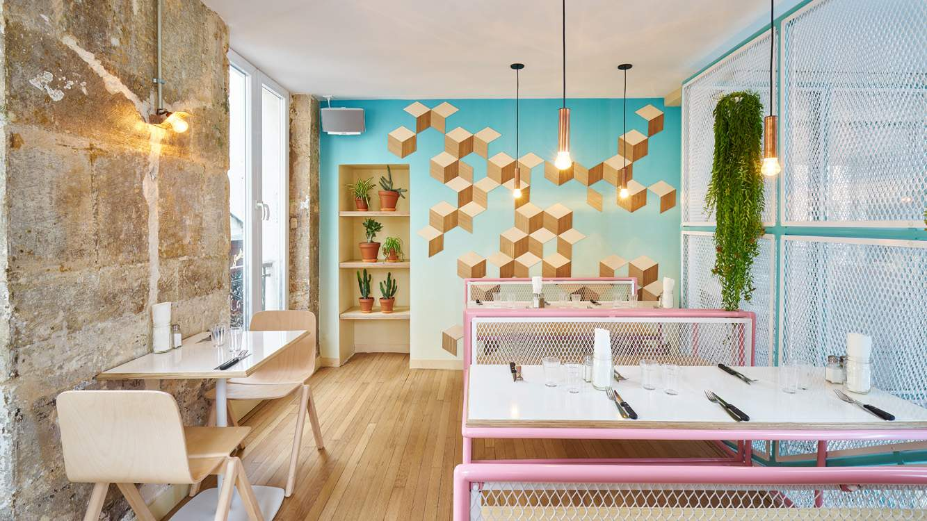 Restaurant Burger Paris – PNY par Cut Architectures