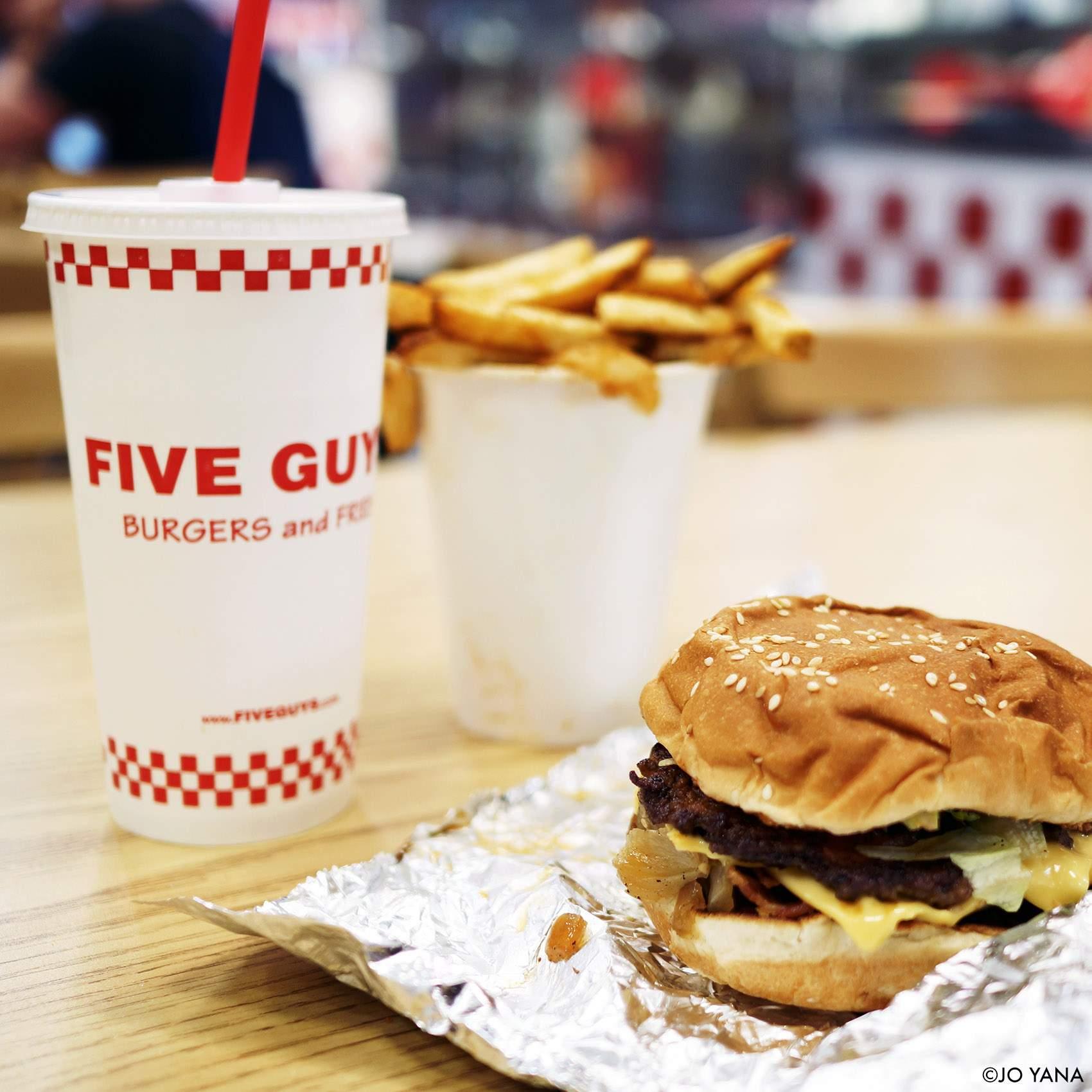 FIVE GUYS NEW YORK