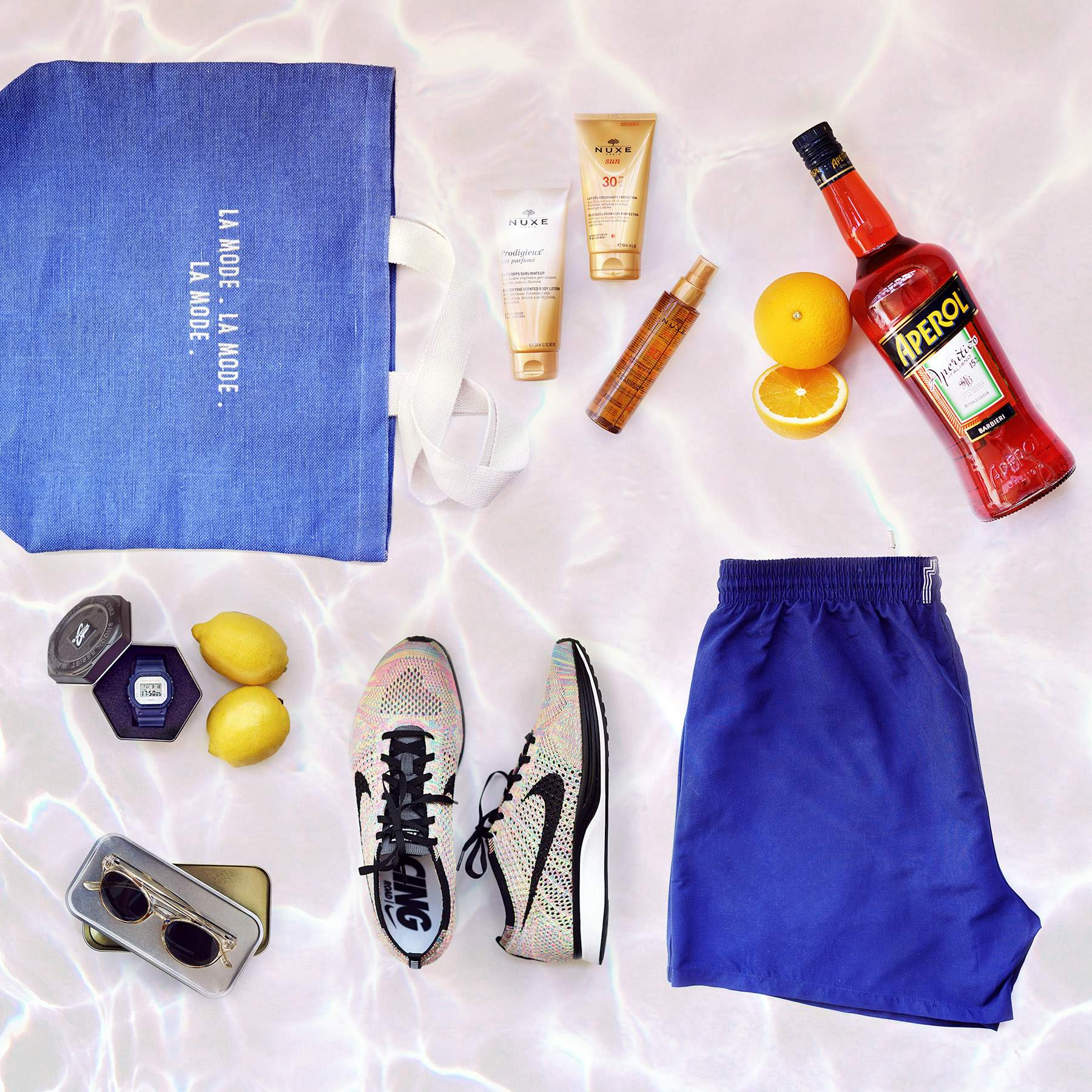 BLOG MODE HOMME SUMMER ESSENTIALS 2016