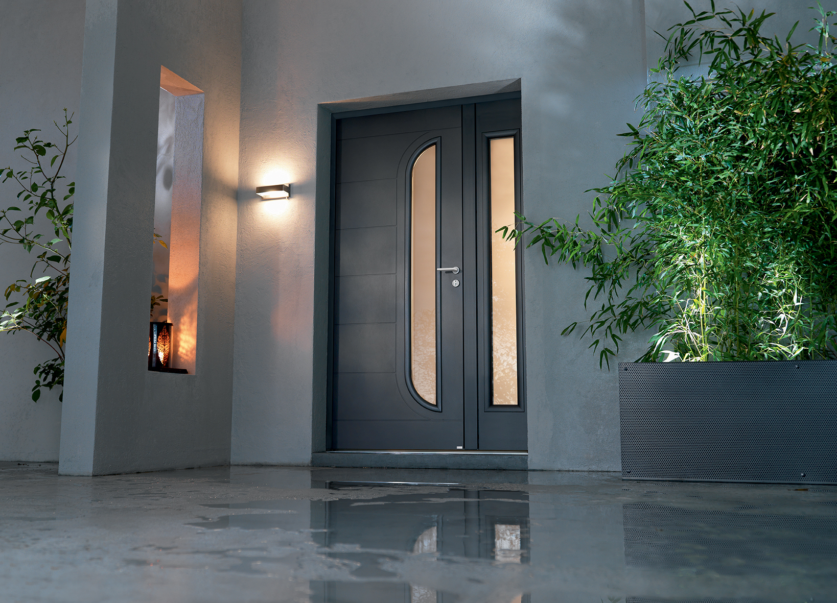 Porte d 39 entr e design bel 39 m blog deco design jo yana - Bel m porte d entree ...
