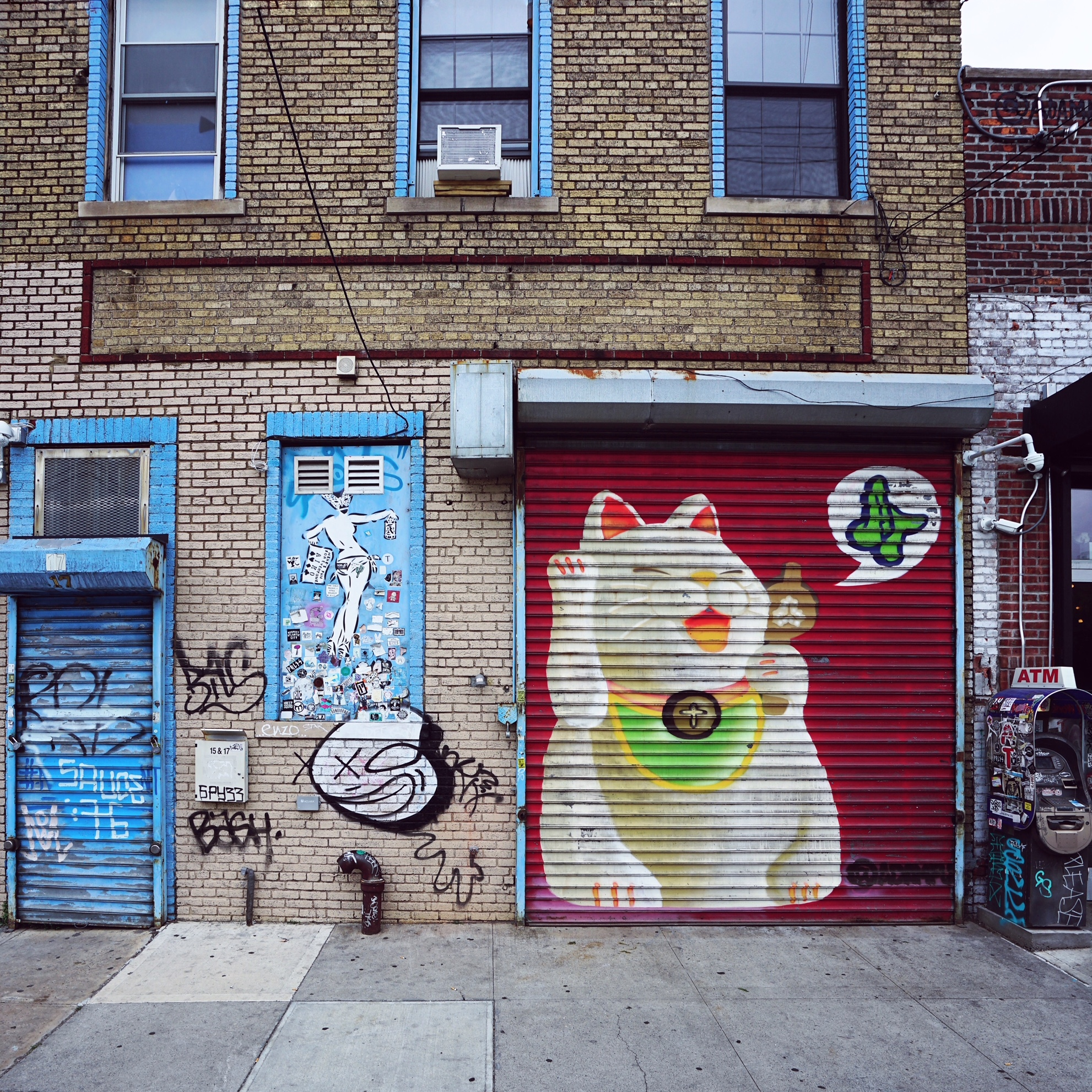 BUSHWICK - le quartier street art à Brooklyn (New York)