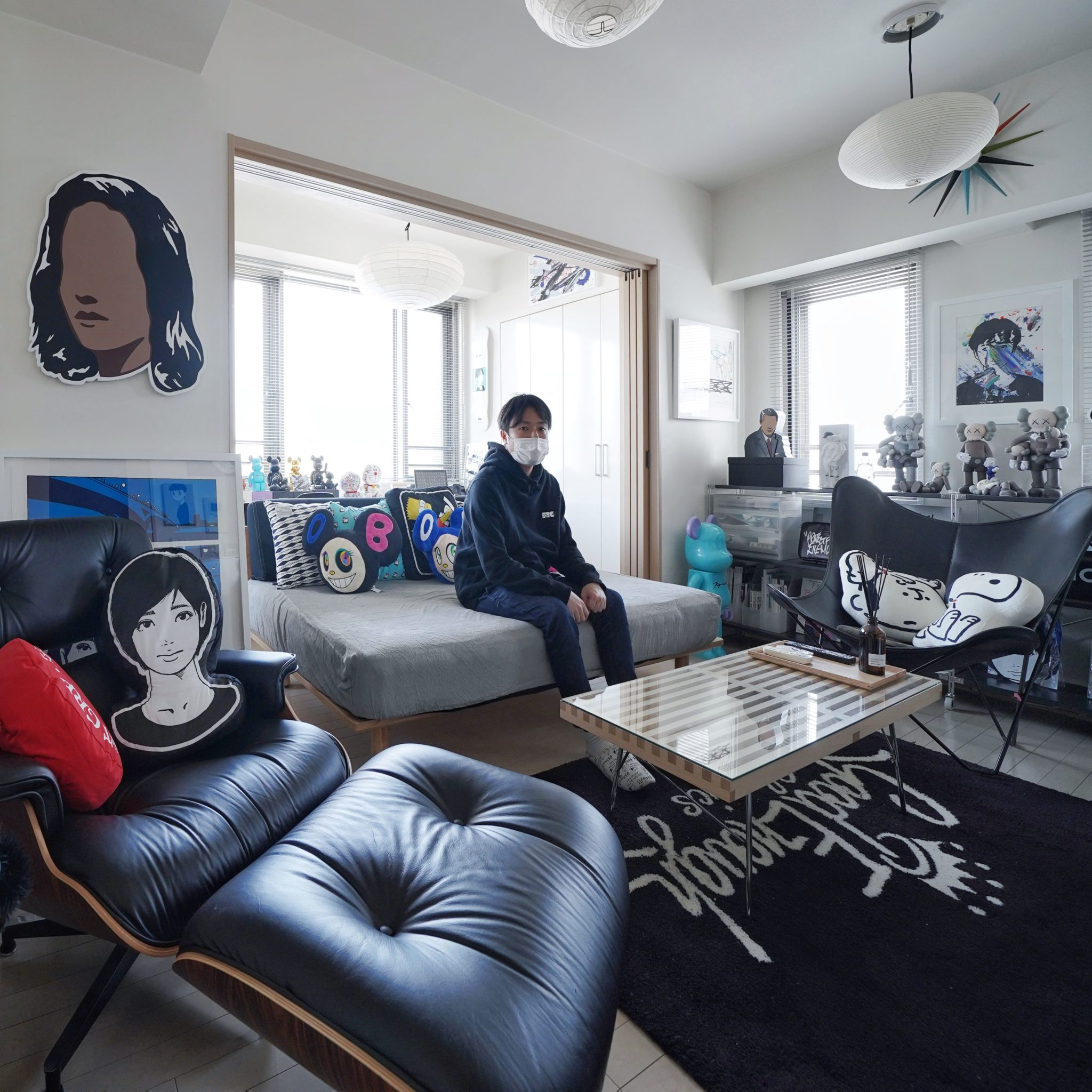 Art Collector at Home in Tokyo | @usk0219