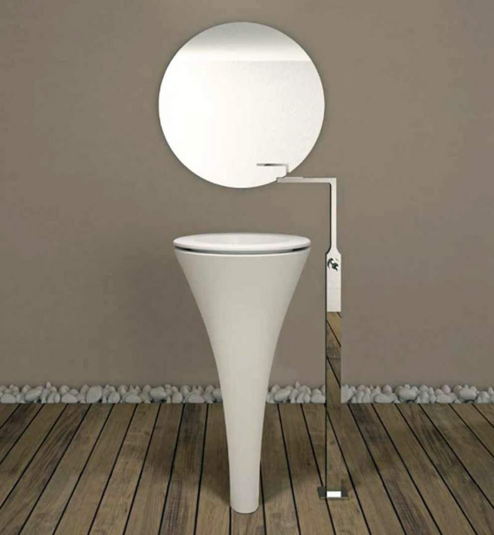 Lavabo design AMEDEO par Karim RASHID