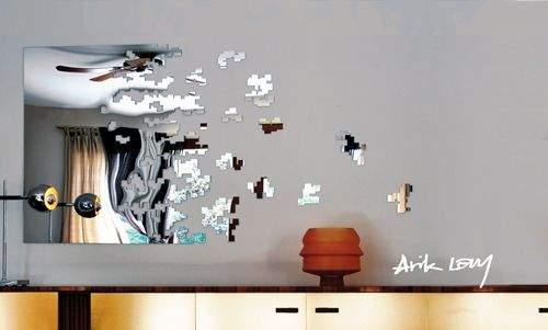 Miroirs design DISSOLVE & DISSOLVE PARTS par Arik LEVY