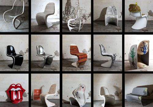 British PANTON CHAIR Competition