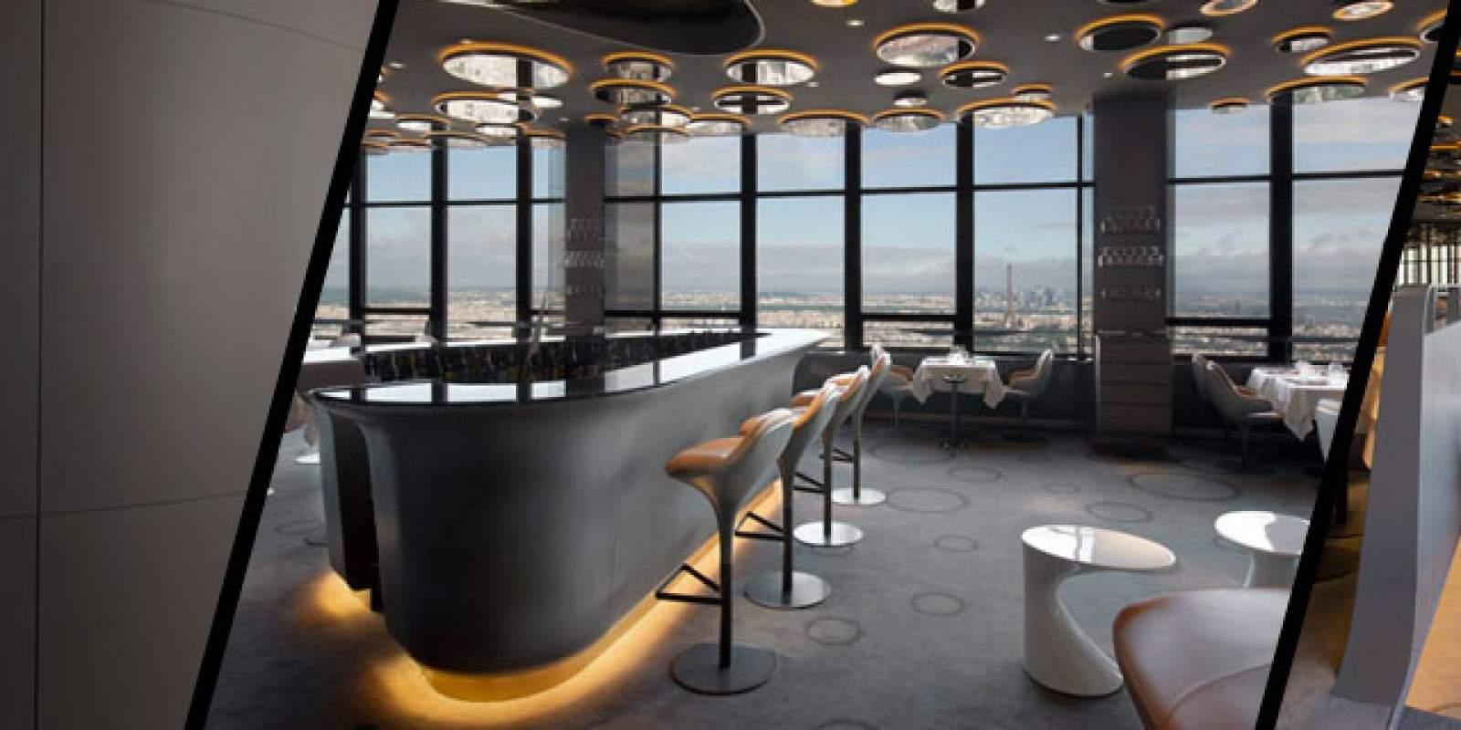 Restaurant CIEL DE PARIS par Noé DUCHAUFOUR-LAWRENCE