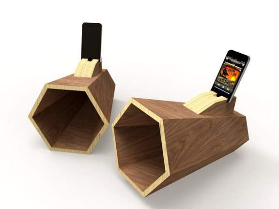Ampli iPhone HEXAPHONE par Pierre STADELMANN x L'EDITO